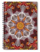 Liquidamber And Feathers Spiral Notebook