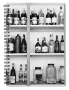 Liquor Bottles Spiral Notebook