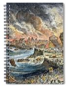 Lisbon Earthquake, 1755 Spiral Notebook