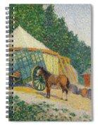 Little Circus Camp  Spiral Notebook
