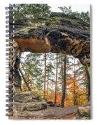 Little Pravcice Gate - Famous Natural Sandstone Arch Spiral Notebook