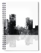 Little Rock Arkansas Skyline Spiral Notebook