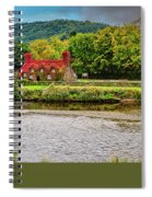 Llanrwst Bridge And Tea Room Spiral Notebook