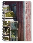 Lobster Traps Spiral Notebook
