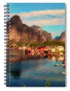 Lofoten, Norway Spiral Notebook