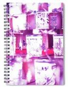 London Christmas Markets 9 Spiral Notebook