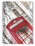 London Telephone 3b Spiral Notebook