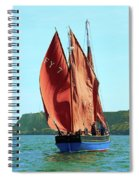 Looe Lugger 'our Daddy' Spiral Notebook