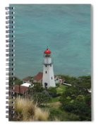 Looking Down At The Lighthouse Spiral Notebook