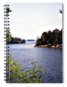 Looking Out Over The River Spiral Notebook