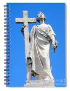 Looking To Heaven Spiral Notebook