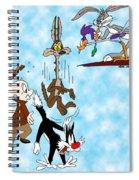 Looney Tunes Spiral Notebook