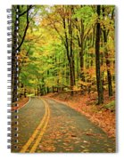 Lost In Pennsylvania - Paint Spiral Notebook