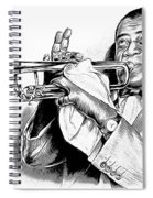 Louis Armstrong Spiral Notebook