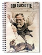 Louis Pasteur (1822-1895) Spiral Notebook