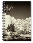 Louisiana Monument At Gettysburg Spiral Notebook