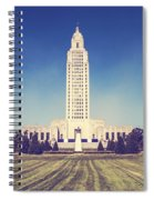 Louisiana State Capital Spiral Notebook