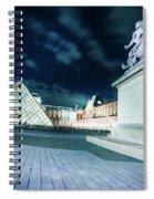 Louvre Museum 6b Art Spiral Notebook