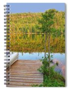 Lovely Lake Spiral Notebook