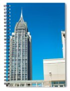Low Angle View Of Buildings, Mobile Spiral Notebook