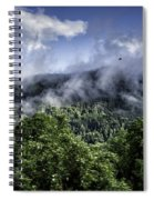 Low Clouds Spiral Notebook