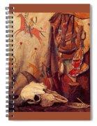lrs Sharp Joseph Henry Old Frontier Stuff Joseph Henry Sharp Spiral Notebook