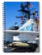 Ltv A-7 Corsair II  Spiral Notebook