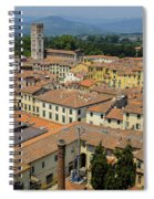 Lucca Italy Spiral Notebook