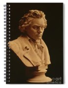Ludwig Van Beethoven, German Composer Spiral Notebook