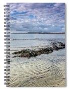 Lyme Regis Seascape - October Spiral Notebook