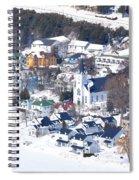 Mackinac Island Winter Spiral Notebook