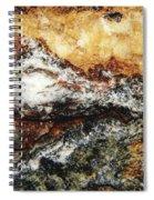 Macro Rock Spiral Notebook