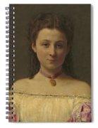 Mademoiselle De Fitz-james Spiral Notebook