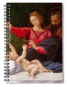 Madonna Of Loreto Spiral Notebook