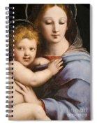 Madonna Of The Candelabra Spiral Notebook
