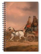 Mail Coaches On The Road Spiral Notebook