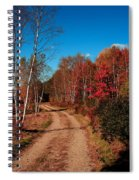 Maine October Spiral Notebook