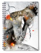 Male Nude  Spiral Notebook