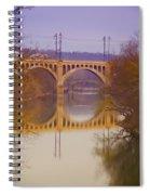 Manayunk Bridge Spiral Notebook