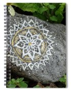 Mandala Stone  Spiral Notebook