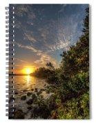 Mangrove Sunrise Spiral Notebook