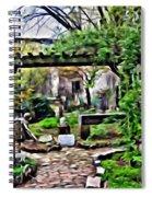 Manhattan Community Garden Spiral Notebook