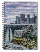 Manhattan Skyline Spiral Notebook