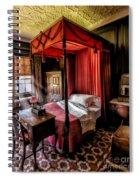 Mansion Bedroom Spiral Notebook