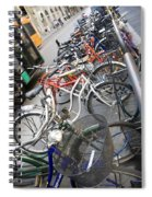 Many Bikes Spiral Notebook