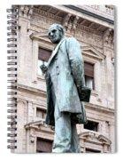 Manzoni Statue Spiral Notebook