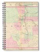 Map Spiral Notebook