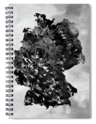 Map Of Germany-black Spiral Notebook