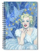 Marilyn Monroe, Old Hollywood Series Spiral Notebook