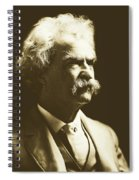 Mark Twain Spiral Notebook